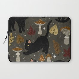 autumn cat magic Laptop Sleeve