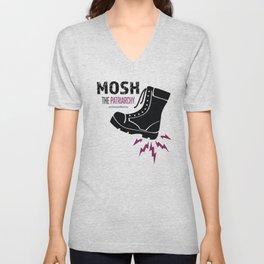 MOSH the Patriarchy Unisex V-Neck