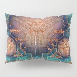 Ayahuasca - Geometric Design - Fractal - Manafold Art Pillow Sham
