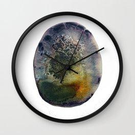 Lockness Agate Watercolor Wall Clock