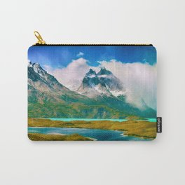 Earth, Water, Air Carry-All Pouch