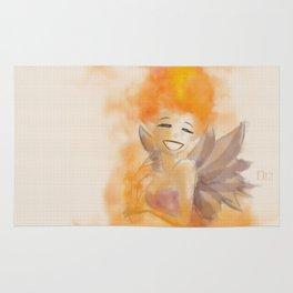 Fire fairy 2 Rug