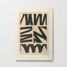 Abstract Art 52 Metal Print