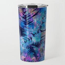 Waikiki Tropic {Blue} Travel Mug