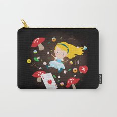 Alice Falling Down the Rabbit Hole Carry-All Pouch