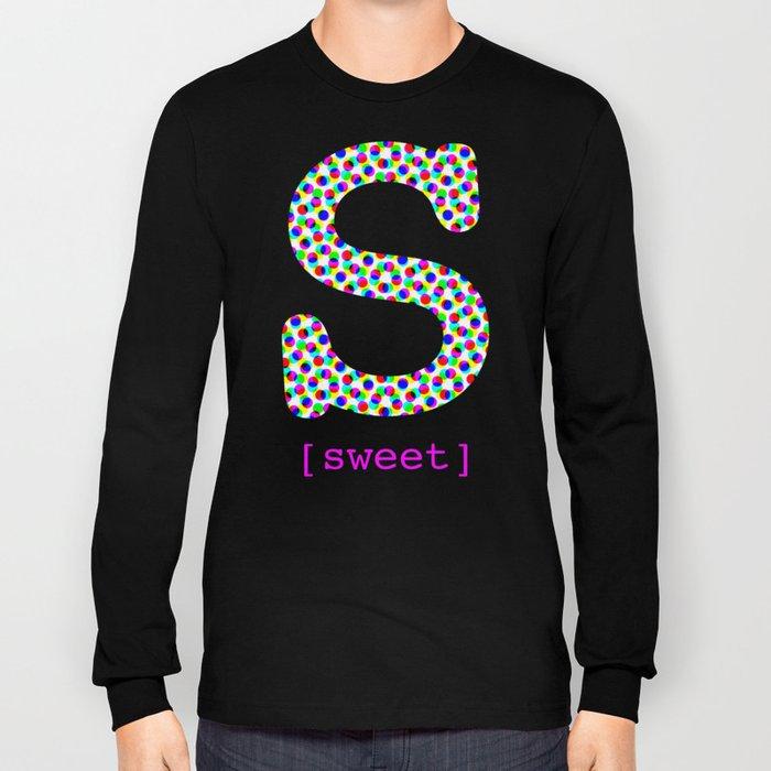#S [sweet] Long Sleeve T-shirt