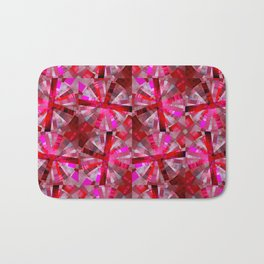 Ultimate Pink Pattern Bath Mat
