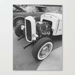 Hot Rods & Whitewalls Canvas Print