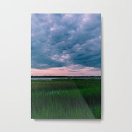 Charleston Sunset II Metal Print