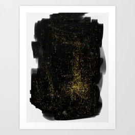 Entanglement of Stars Art Print