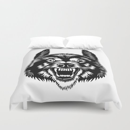 Big Bad Wolf Duvet Cover