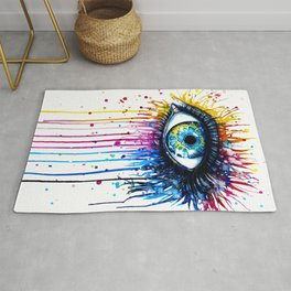 EYE--DRIPPING Rug