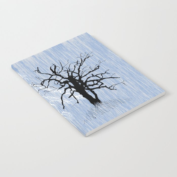 Gnarled Tree and Lightning Notebook