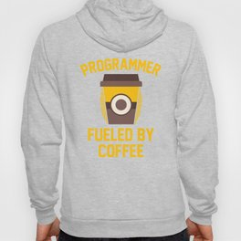 Computer Programmer Fueled By Coffee Hoody
