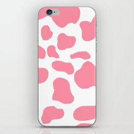 Strawberry cow iPhone Skin