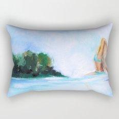 Dreaming Of Nicaragua Rectangular Pillow