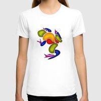 frog T-shirts featuring Frog by Aleksandra Mikolajczak