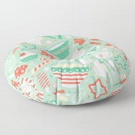 Christmas Baking Floor Pillow