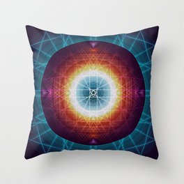 Akashic Fields Throw Pillow