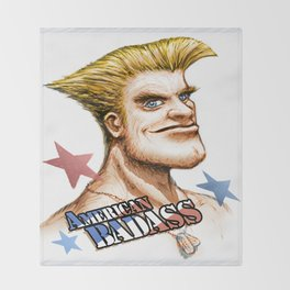 American Badass Throw Blanket