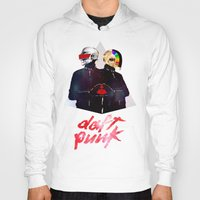 daft punk Hoodies featuring Daft Punk by omurizer