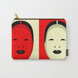 Noh, Ephemera (from Studio Glmn archives) Carry-All Pouch