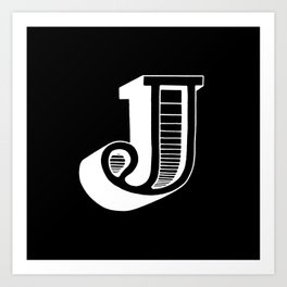 J #2 Art Print