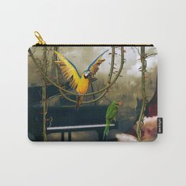 Funny parrots Carry-All Pouch