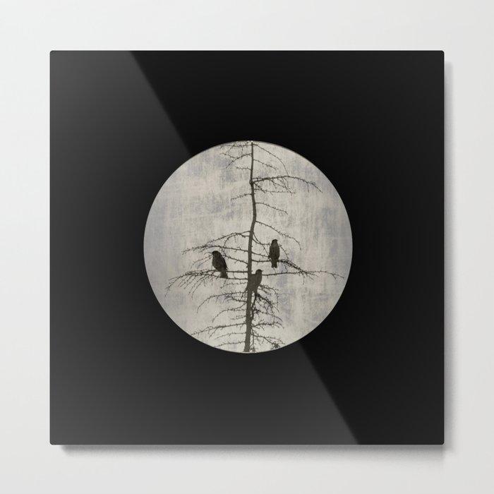 A Full Moon Night Metal Print