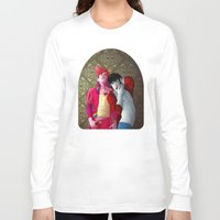 gumball Long Sleeve T-shirts featuring Marshall and Gumball by Kimball Gray
