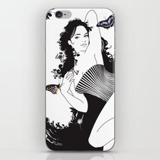 Black Nimf iPhone & iPod Skin
