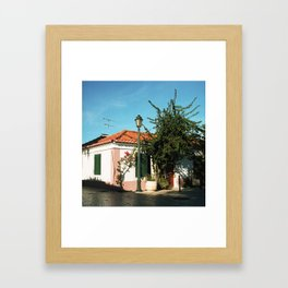 Portugal, Cascais (RR 186) Analog 6x6 odak Ektar 100 Framed Art Print