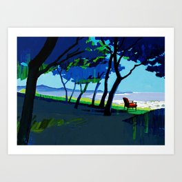 Verandah Art Print