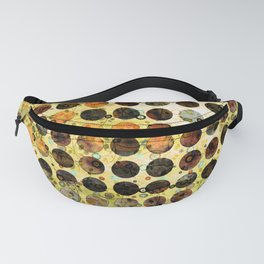 MELANGE OF YELLOW OCKER and BROWN Fanny Pack
