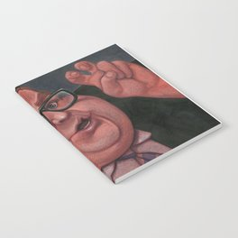 Chris Farley as Bennett Brauer Notebook