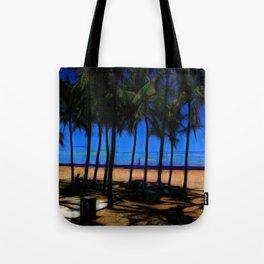 Hawaii Beach At Midday Tote Bag