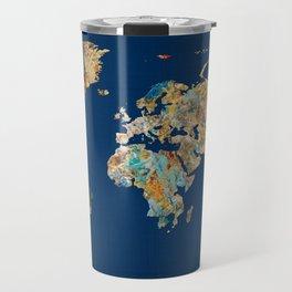World Map 11 Travel Mug
