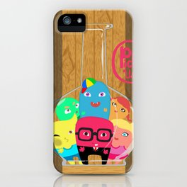 Trapped Little Monsters iPhone Case