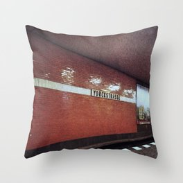 Yorckstrasse Throw Pillow