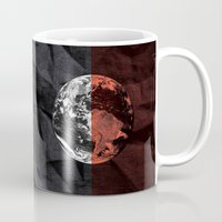 globe Mugs featuring Globe by journohq