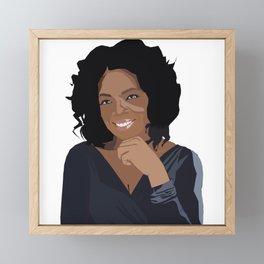 Oprah Framed Mini Art Print