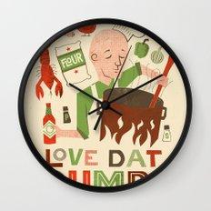 Love Dat Gumbo Wall Clock