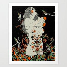 Unseen Splendor Art Print