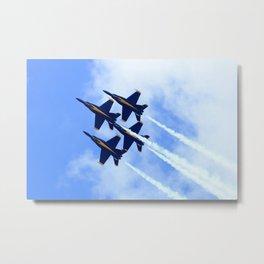 Blue Angels #s 1 2 3 4 Metal Print