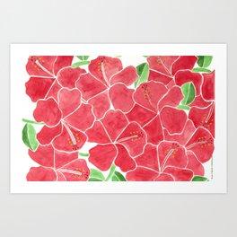 Exotic clavelon Art Print
