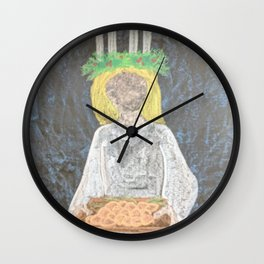 Santa Lucia Wall Clock
