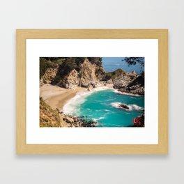 McWay Falls, California Framed Art Print