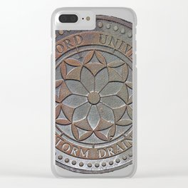 Storm Drain 1 Clear iPhone Case