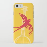 swallow iPhone & iPod Cases featuring Swallow by Cai Sepulis