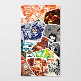 a few favorites Canvas Print